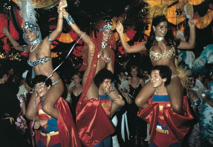 The Rio de Janeiro Carnival is celebrated every year in February.