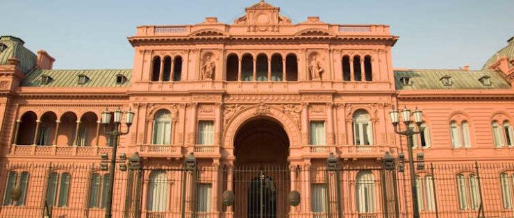 The Casa Rosade, Buenos Aires