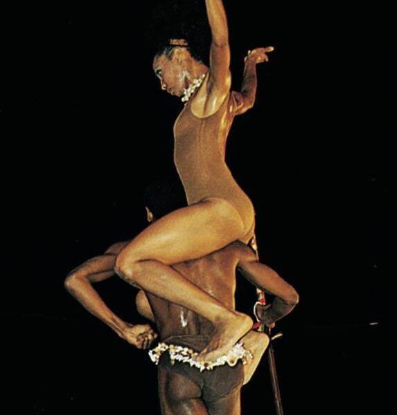 Dancers from the Ballet Nacional de Cuba (Cuba's National Ballet).