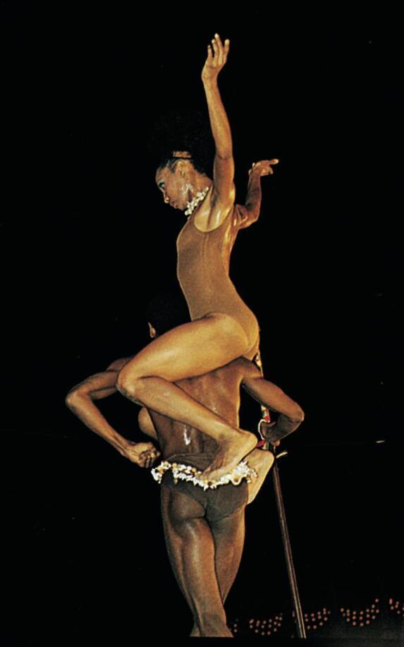 Dancers from the Ballet Nacional de Cuba (Cuba's National Ballet).