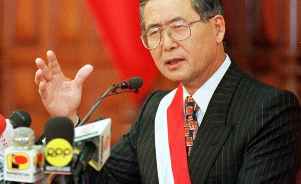 Japanese-born Alberto Fujimori