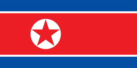 North Korea Emoji flag