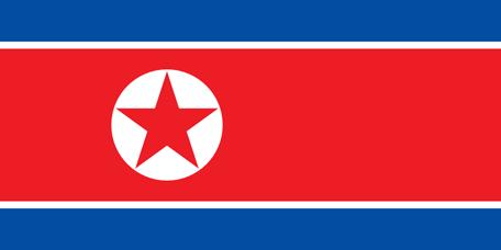 North Korea Emoji flag