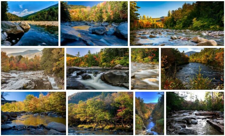 Rivers and Mountains in New Hampshire