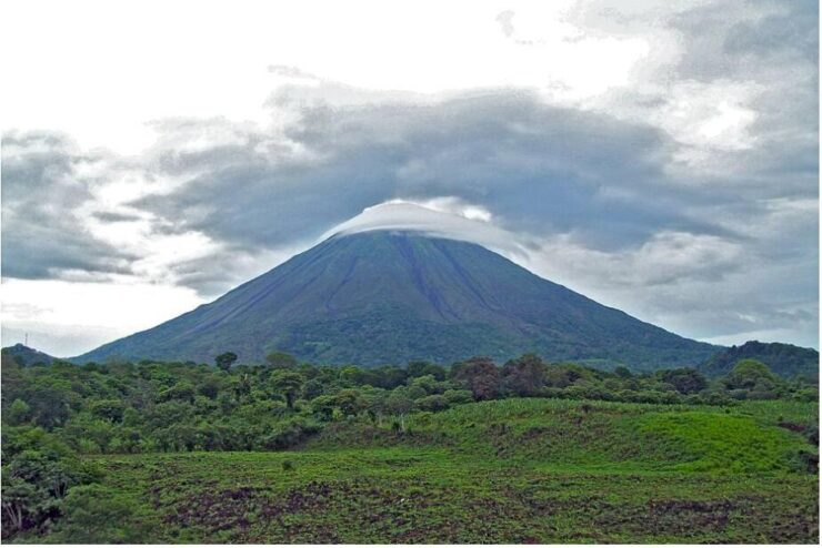 Concepción Volcano on Ometepe Island Nicaragua