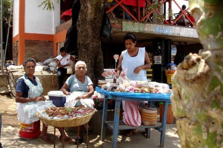 Market women in Nicaragua