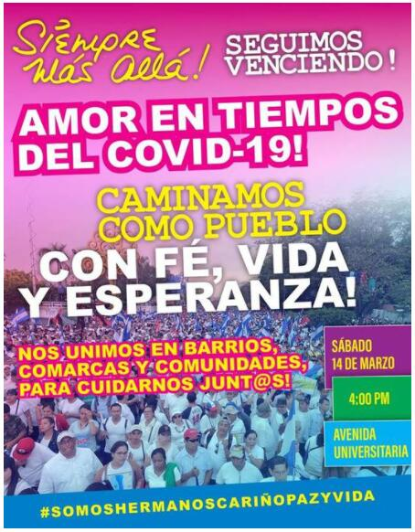Nicaragua COVID-19 Virus