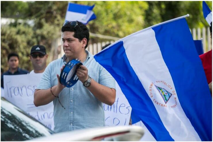 Nicaragua Protests against the Government