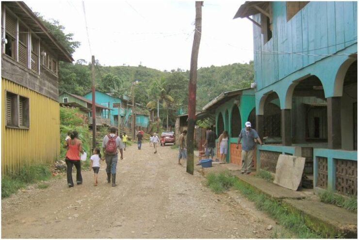 Street in Bonanza Nicaragua