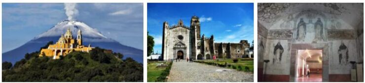 Monasteries on the Slopes of Popocatepetl