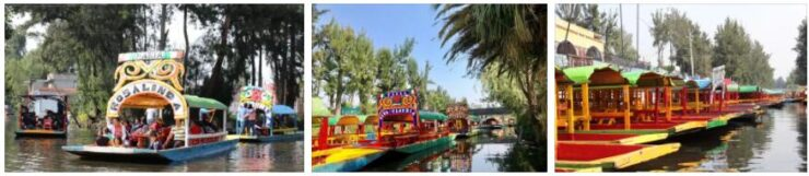 Old Town of Mexico and Xochimilco